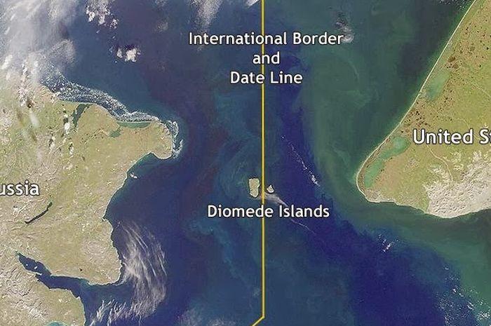 Kepulauan Diomede (Wikimedia Commons)