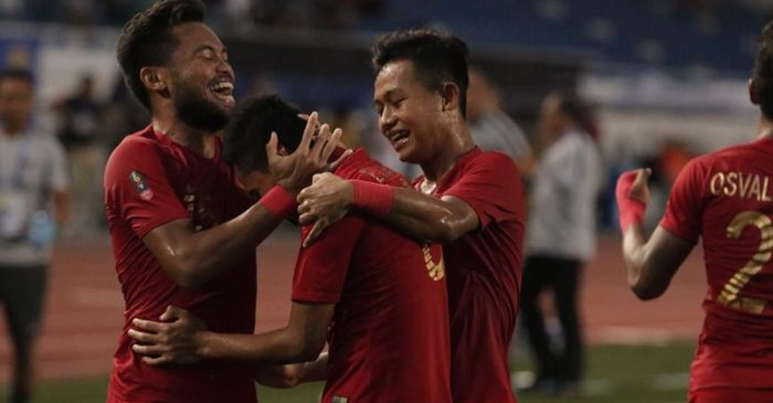 Semua Pemain Timnas U-22 Indonesia Siap Tempur Hadapi Vietnam