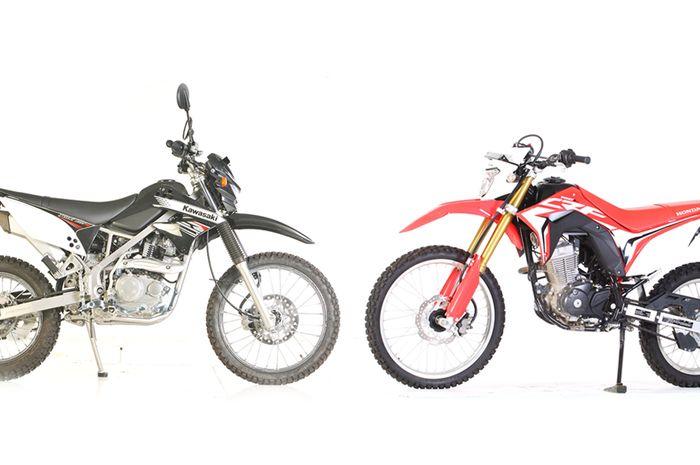 Kawasaki KLX 150 Vs Honda CRF 150L