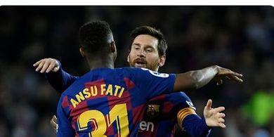Ukir Rekor di Barcelona, Ansu Fati Jauh Lebih Jago daripada Lionel Messi