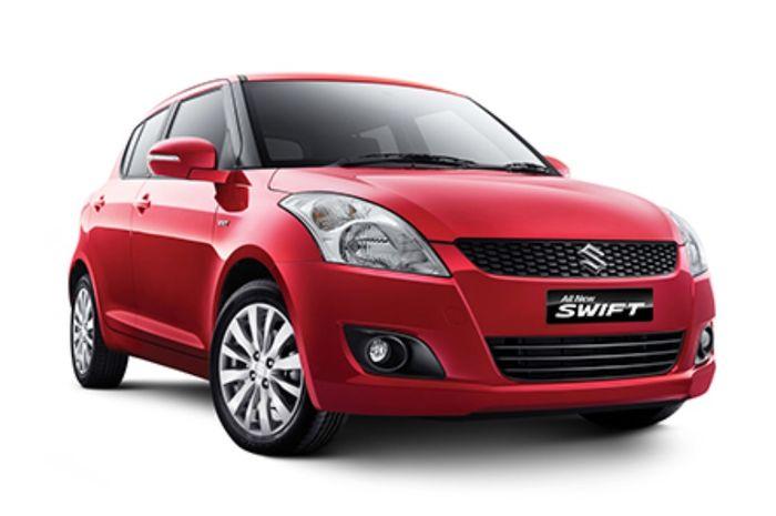 Suzuki Swift generasi terakhir yang beredar di Indonesia