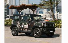 Gaya Banget, Suzuki Jimny Dibungkus Kamuflase Ala Apparel Bape