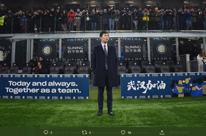 Presiden Inter Milan, Steven Zhang.