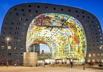 Seperti dari Masa Depan, Ini 7 Bangunan Menakjubkan di Dunia