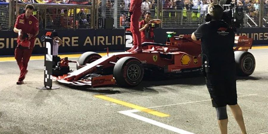 F1 GP Singapura 2019 - Charles Leclerc Heran Bisa Meraih Pole Position