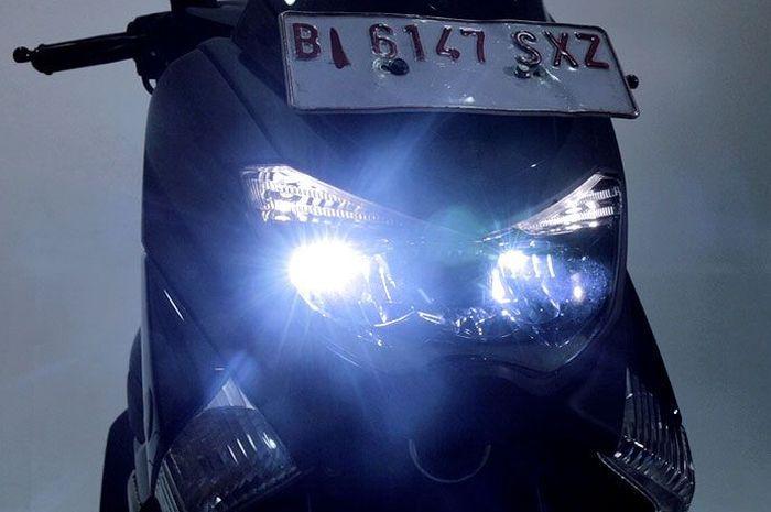 Ilustrasi lampu Yamaha NMAX 2019