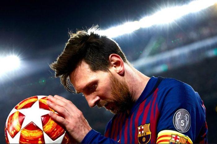 Barcelona vs Levante, Gol Semata Wayang Messi Pastikan Gelar Juara, Ini Highlight Pertandingannya!