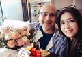 Saling Bertatap Mesra, Maia Estianty Jadi Tamu Spesial Saat Pertama Kali Sambangi Kantor Suami