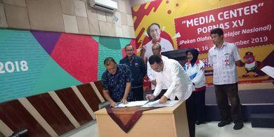 Kemenpora dan NOC Resmi Tanda Tangani Mou untuk SEA Games 2019