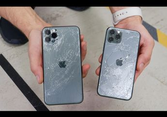 (Video) Drop Test iPhone 11 Pro dan 11 Pro Max Buktikan Kekuatan Material Kaca