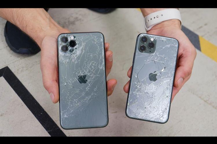 (Video) Drop Test iPhone 11 Pro dan 11 Pro Max Buktikan Kekuatan Material Kaca