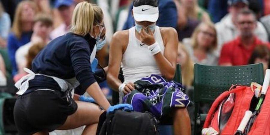 Wimbledon 2021 - Sesak Nafas Hentikan Dongeng Petenis Remaja Tuan Rumah