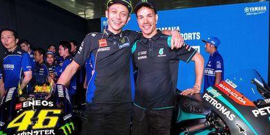 Kata Franco Morbidelli soal Peluang Berduet dengan Valentino Rossi