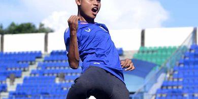 Diliburkan PSIS, Fandi Eko Utomo Jalani Latihan Bersama Pemain Liga 2 dan 3