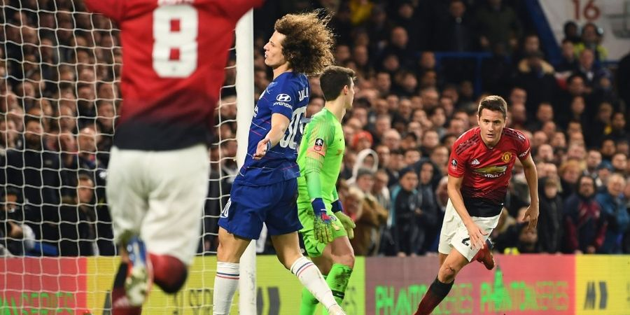 Hasil Piala FA - Gol dan Assist Pogba Bawa Man United Permalukan Chelsea dan Lolos ke Perempat Final