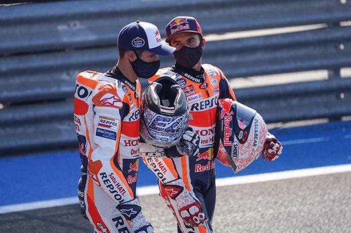 Marc Marquez dan Alex Marquez di MotoGP