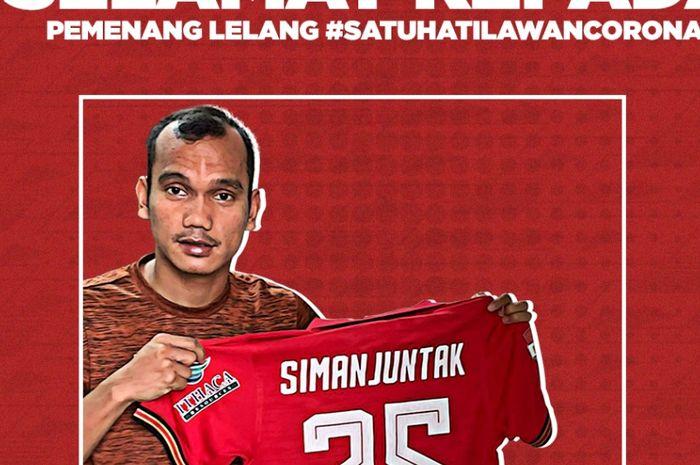 Lelang #SatuHatiLawanCorona Persija Jakarta