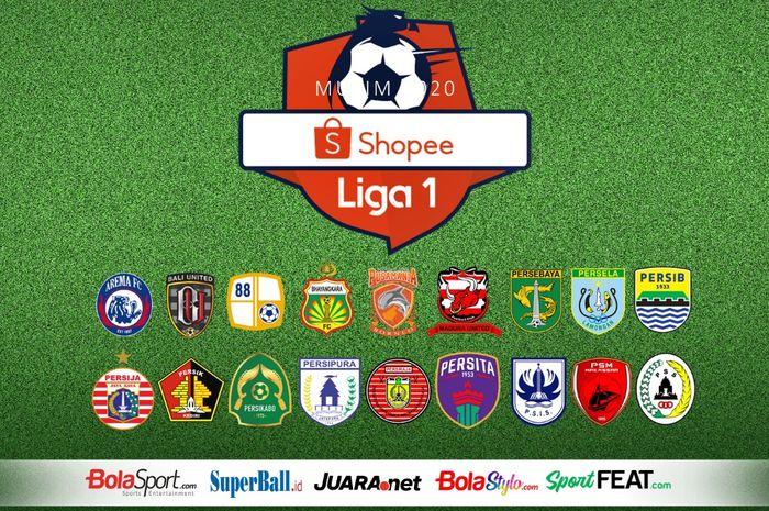 Ilustrasi berita Liga 1 2020.