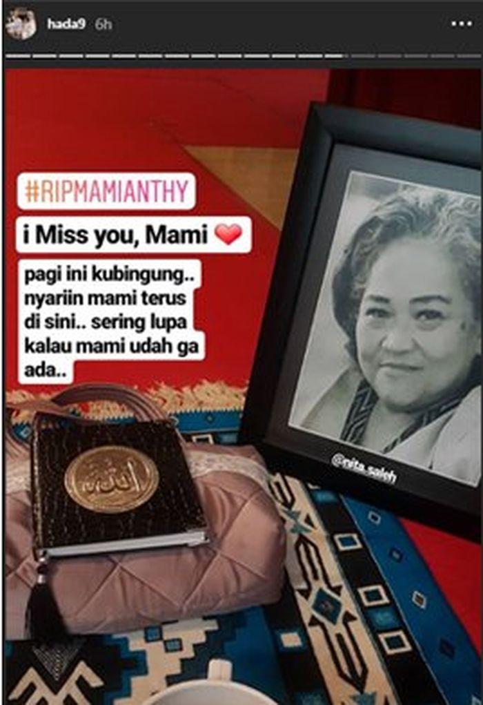 Hada mengaku masih suka lupa mama sudah meninggal