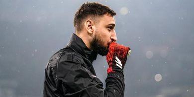 Susunan Pemain AC Milan Vs AS Roma - Donnarumma COVID-19, Rossoneri Turunkan Kiper 34 Tahun