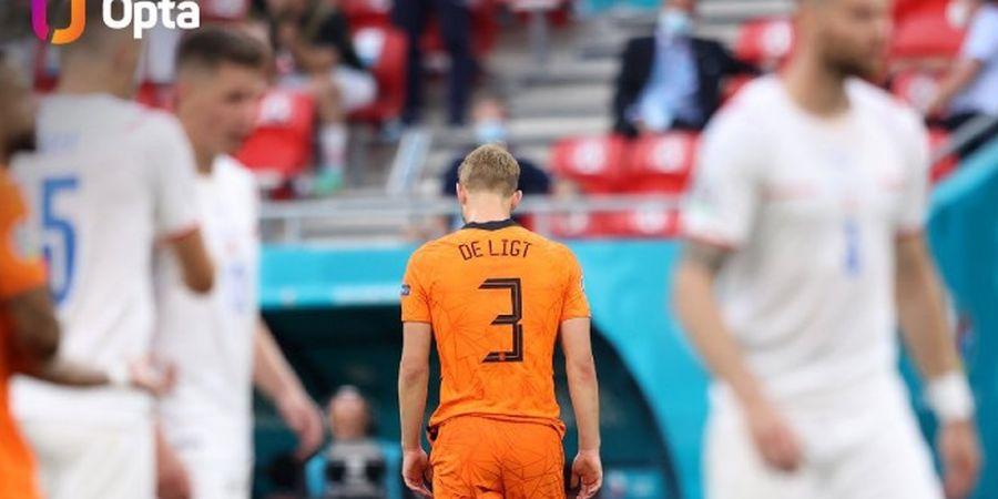Belanda Angkat Koper dari Euro 2020, De Ligt Akui Kesalahan Bodohnya