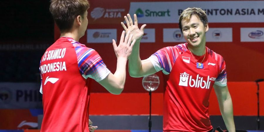 Jadwal Live All England Open 2020 di TVRI - Kans Ganda Putra Ciptakan All Indonesian Final
