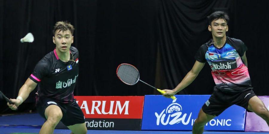 PBSI Home Tournament - Dengan Tandem Baru, Kevin Sanjaya dan Marcus Gideon Sama-sama Menang