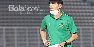 Kabar Timnas Indonesia - Cuma 3 Pemain Luar Negeri yang Sehat, Ini Tanggapan Shin Tae-yong