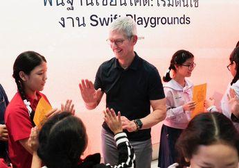 Tim Cook Lanjutkan Perjalanan ke Thailand, Temui Pemenang Beasiswa WWDC