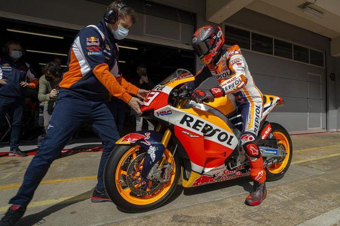 Bakal ikut balapan MotoGP Portugal 2021 akhir pekan ini, apakah Marc Marquez sudah siap secara mental?