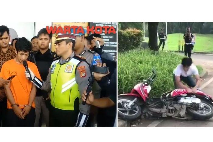 Adi Saputra meminta maaf kepada publik dan polisi