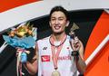 Indonesia Open 2019 - Kento Momota Diam-diam Kagumi Kehebatan Kevin Sanjaya
