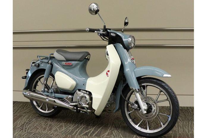 Warna baru Honda Super Cub C125 di Jepang