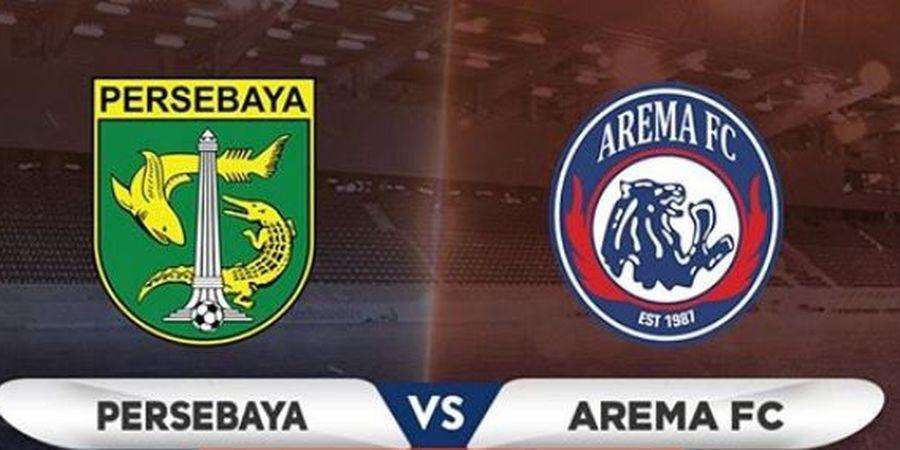 3 Fakta Menarik Jelang Persebaya Vs Arema FC, Rapor Jeblok Bajul Ijo Hingga Laga Tanpa Penonton