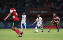 madura united vs psis semarang - tak ada gol pada 45 menit pertama