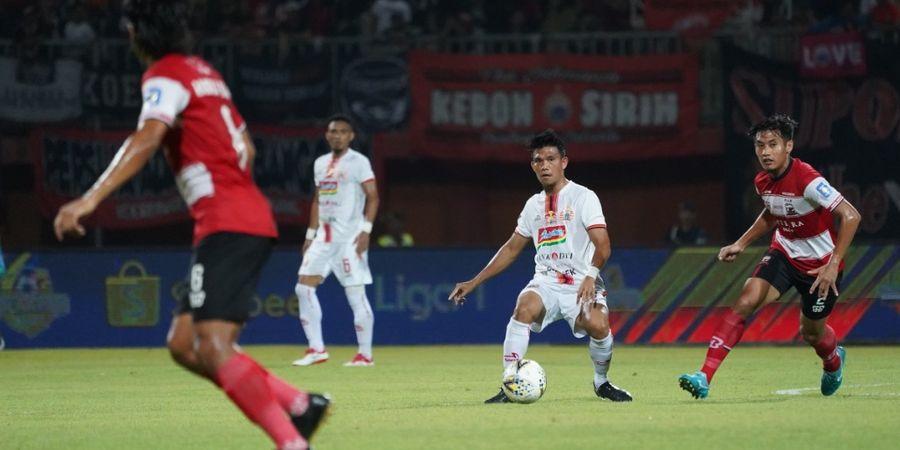 Madura United Masih Imbang Kontra PSIS di 45 Menit Pertama