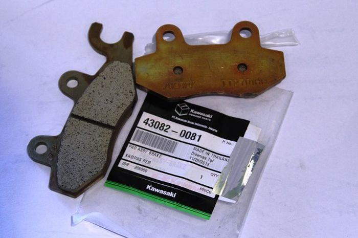 Kampas rem untuk tipe injeksi dan karburator bisa saling tukar nih