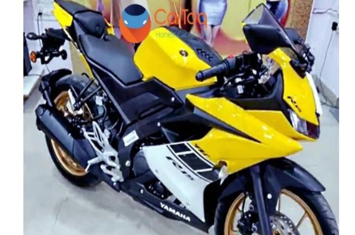 Yamaha All New R15 dengan livery 60th anniversary Yamaha