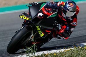 Andrea Dovizioso Nongol Lagi di Tes Uji Coba Aprilia, Kode Merapat untuk MotoGP 2022?