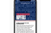 Apple News Rilis Profil 20 Kandidat Presiden AS di Pemilu 2020