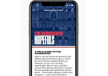 Apple News Rilis Profil 20 Kandidat Presiden AS di Pemilu 2020