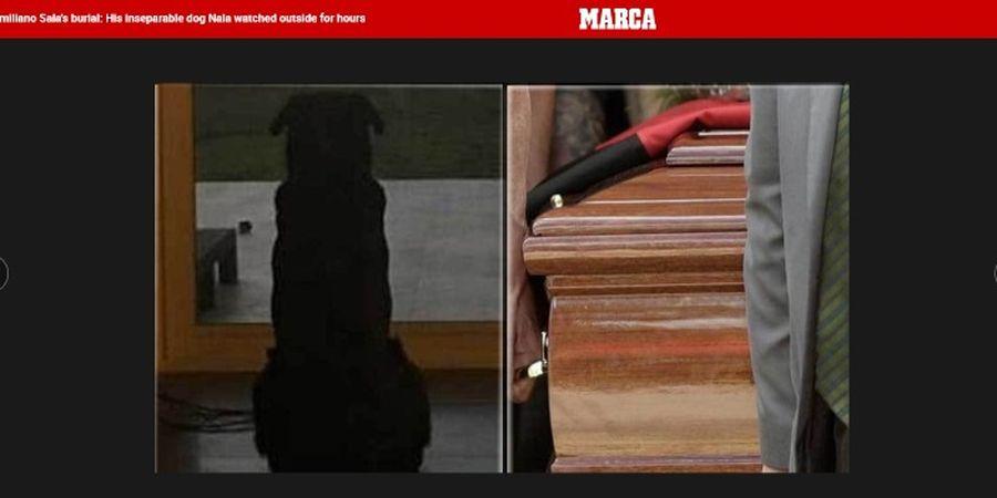Bukti Kesetiaan Anjing Peliharaan Emiliano Sala dalam Acara Pemakaman