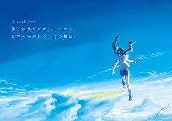 Sutradara 'Kimi No Na Wa' Umumkan Judul Film Anime Baru,  'Tenki no Ko'