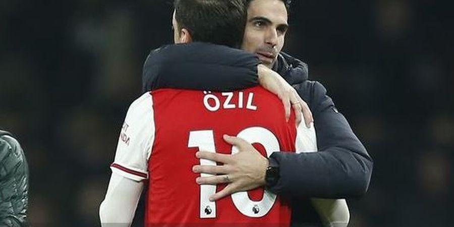 Mesut Oezil Kecewa dengan Sikap Arsenal, Begini Tanggapan Mikel Arteta
