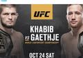 UFC 254 - Wajah Bersih Khabib Nurmagomedov Ingin Dikotori Justin Gaethje