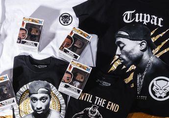 Tupac dan Black Panther Bersatu di Koleksi Clothing Terbaru Marvel