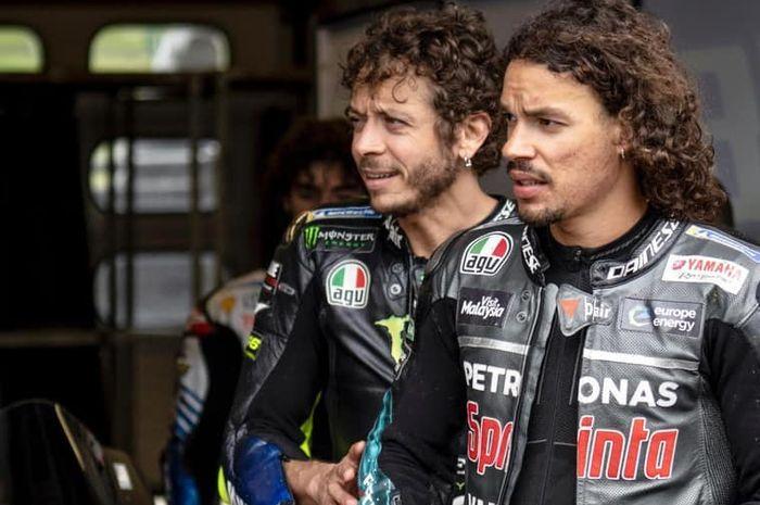 Valentino Rossi dan Franco Morbidelli akan bersatu di MotoGP 2020 bersama tim Petronas Yamaha
