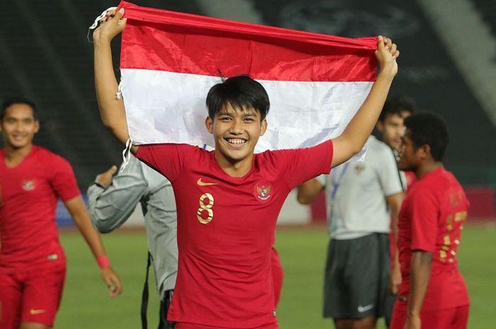 Pemain asal Indonesia yang kini membela FK Radnik Surdulica, Witan Sulaiman.
