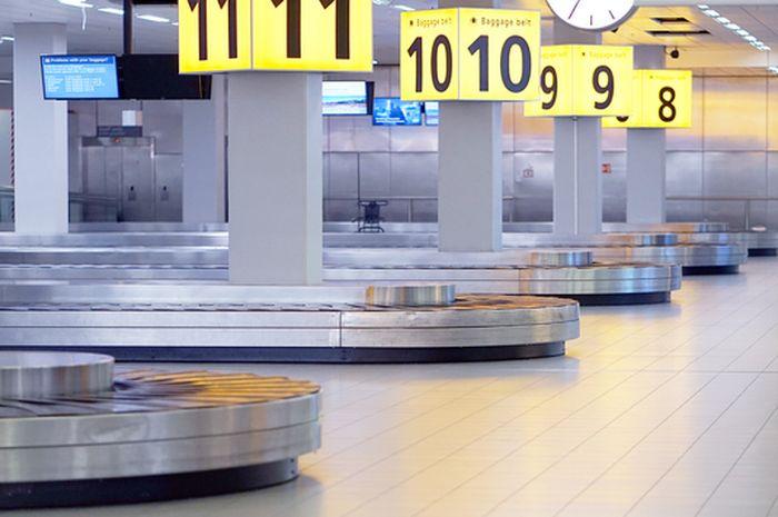 Korsel bagasi bandara.