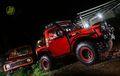 Modifikasi Si 'Red Dozer' Suzuki Jimny 1983
